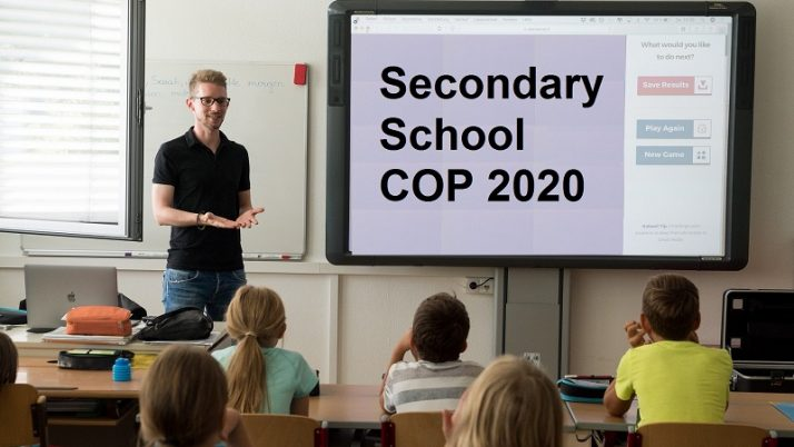 COP For Secondary School 2019 ~ Indicative COP 2020