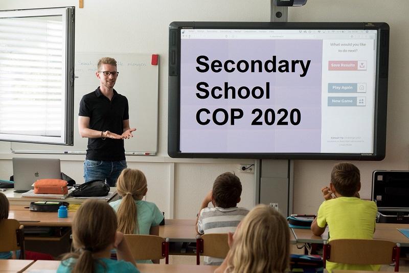 COP For Secondary School 2019 ~ Indicative COP 2020